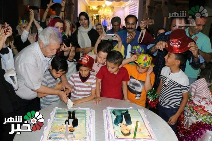 جشن تولد کودکان خانه امید به زندگی برگزار شد