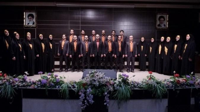 کسب رتبه سوم مسابقات کرال فرهنگیان(سرود همگانی ) کشورتوسط گروه کرال شهریار
