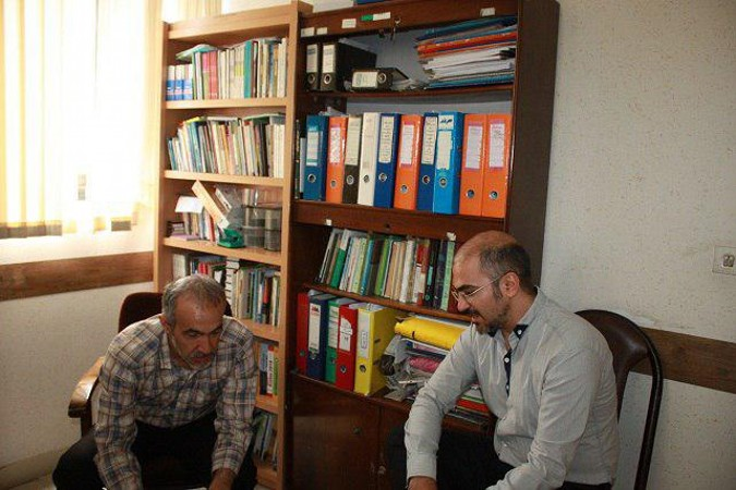 مصاحبه با ابراهیم رهگذر مسئول دفتر نمایندگی انجمن هنرهای نمایشی شهرستان شهریار