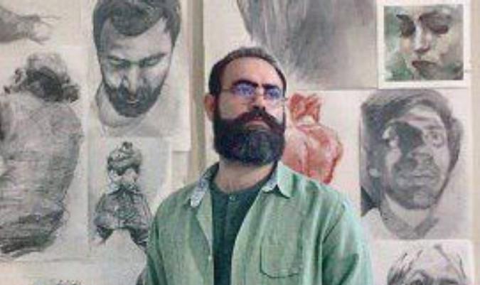 مصاحبه با استاد سیامک شیری مدیرآموزشگاه هنرهای تجسمی آژنگ شهرستان شهریار