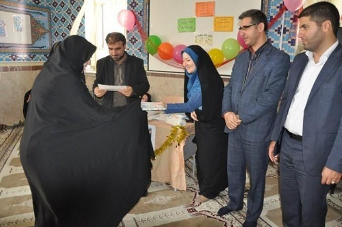 تقدیر از سواد آموزان شهرستان شهریار