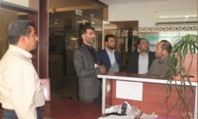 بازدید از بنیاد شهید شهرستان قدس