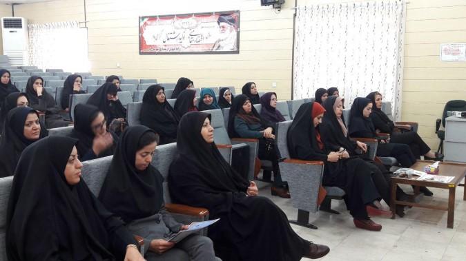 برگزاری جلسه آموزشی , سیاستهای جدید جمعیتی در فرمانداری شهرستان قدس