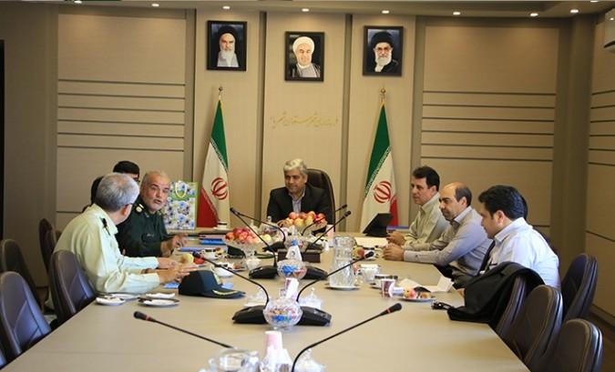تقدیر از رئیس پلیس مبارزه با مواد مخدر غرب استان تهران