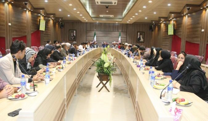 تجلیل از خبرنگاران شهرستانهای شهریار، قدس و ملارد