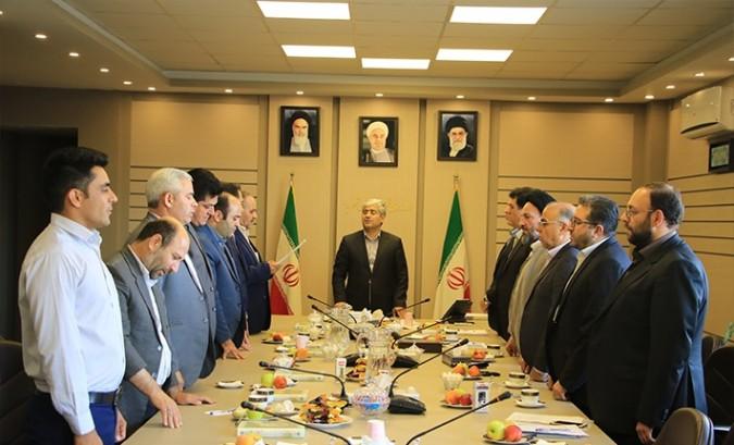 مراسم تحلیف اعضا و انتخاب هیات رئیس شورای اسلامی شهر باغستان