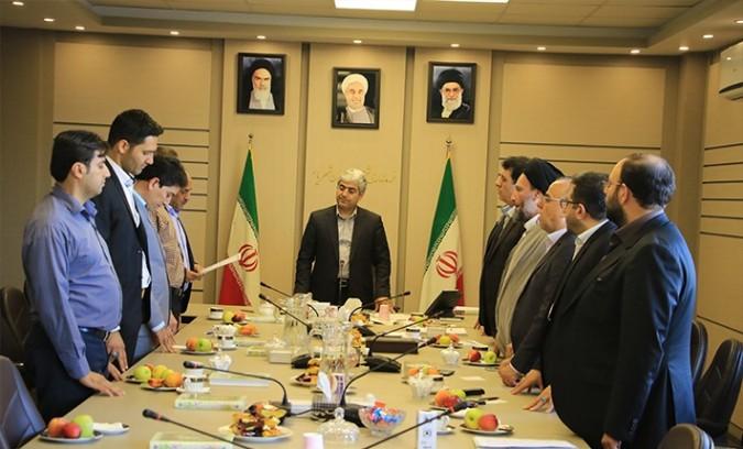 مراسم تحلیف اعضا و هیات رئیسه شورای اسلامی شهر فردوسیه