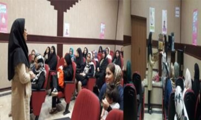 برگزاری کمپین آموزشی ترویج تغذیه شیر مادر در شهرستان قدس
