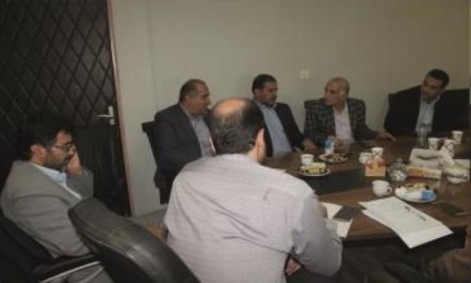 برگزاری جلسه ساماندهی صنوف آلاینده و مزاحم شهرستان قدس