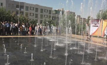 افتتاح اولین آبنمای موزیکال شهر قدس همزمان با هفته دولت