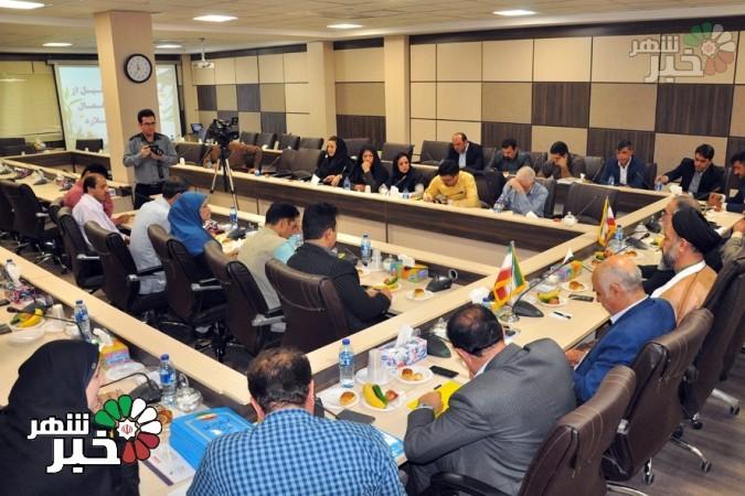 مراسم تجلیل از خبرنگاران و اصحاب رسانه شهرستان ملارد برگزار شد