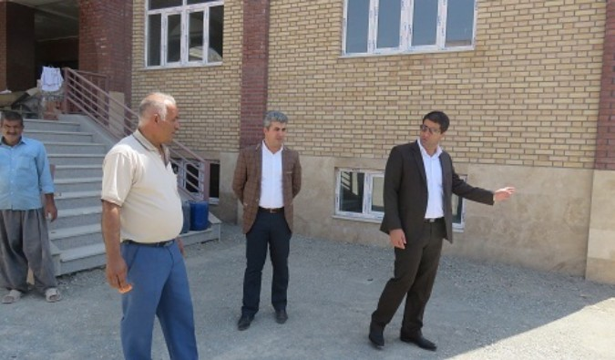 بازدید سرپرست آموزش وپرورش شهریار از پروژه های در حال ساخت