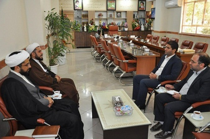 دیدار رئیس ستاداقامه نماز جمعه شهرستان شهریار با سرپرست آموزش وپرورش شهریار