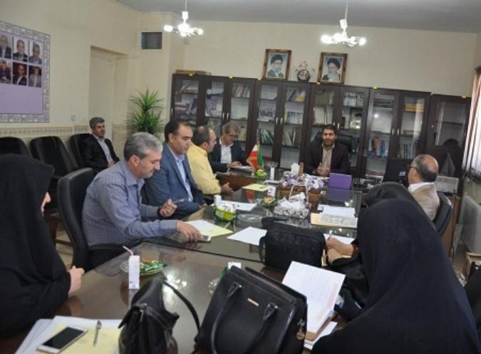 جلسه هماهنگی برگزاری کنکو فنی حرفه ای در شهریار