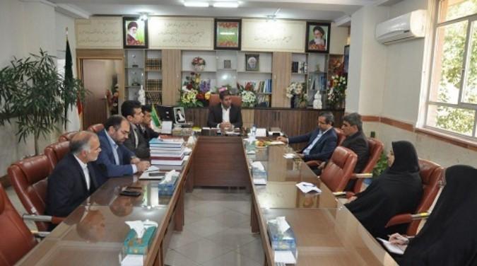 دیدار معاون آموزش ابتدایی اداره کل شهرستانهای تهران با سرپرست آموزش وپرورش شهریار