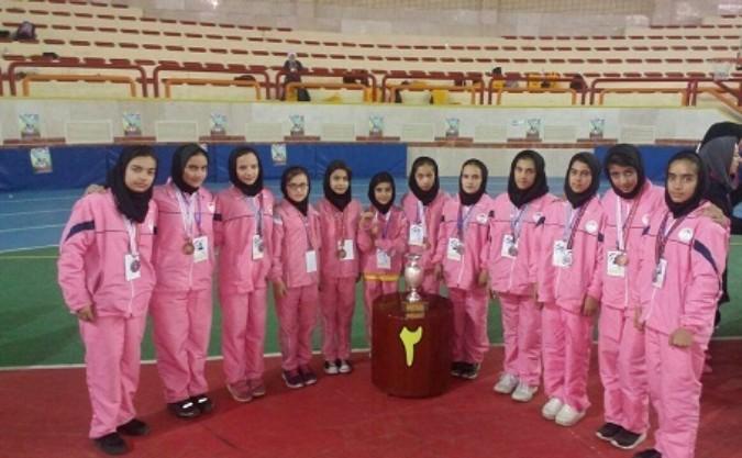 درخشش دانش آموزان شهریاری در تیم داژبال دختران شهرستانهای تهران