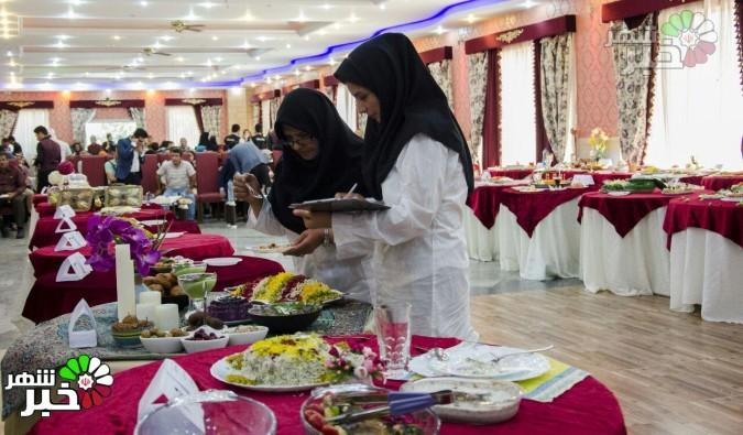 اولین جشنواره آشپزى و سفره آرایى در کهنز شهریار برگزار شد