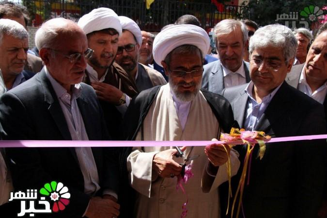 افتتاحیه پروژه های شهرداری شهریار در هفته دولت توسط محمدحسین مقیمی