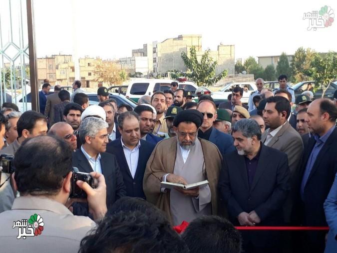 افتتاح ۲ پروژه عمرانی شهریار با حضور وزیر اطلاعات + تصاویر