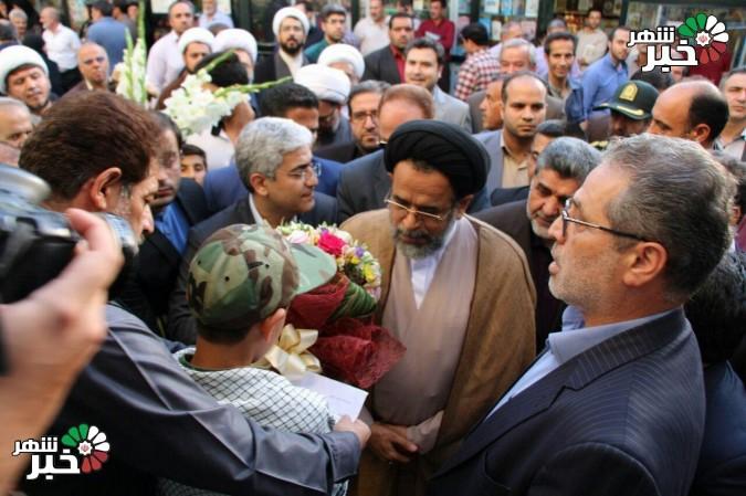 حضور وزیر اطلاعات به منظور بازدید و افتتاح پروژههای شهریار