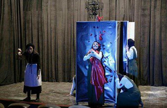 اجرای نمایش «تاریکخانه» در فرهنگسرای استادشهریار