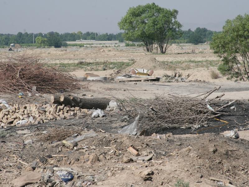 تخریب 42 کارگاه غیر مجاز تولید ذغال در ملارد