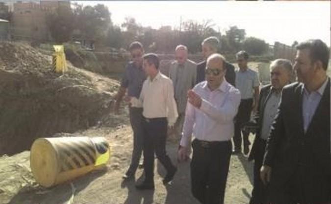 بازدید مدیر کل نوسازی راه آهن استان تهران از ریل راه آهن شهرستان قدس