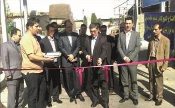 افتتاح دو دستگاه تصفیه فاضلاب صنعتی در شرکت به نخ و شهرنگ شهرستان قدس