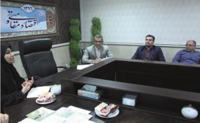 برگزاری جلسه طرح مزایای بیمه روستایی در فرمانداری قدس