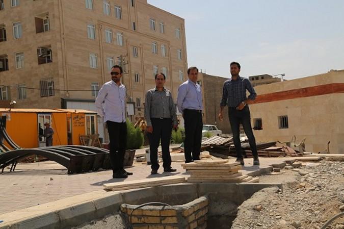 بازدید سرپرست شهرداری و ریاست شورای شهر از پروژه های عمرانی شهرستان شهریار
