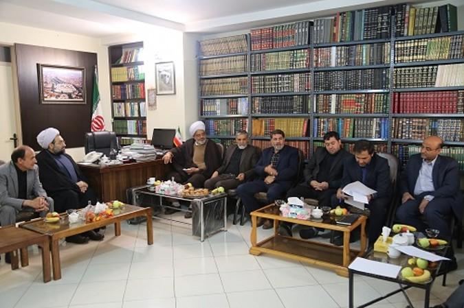 جلسه مشترک مسئولین شهرداری با امام جمعه شهرستان شهریار