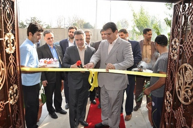 آیین گشایش استخر شهدای فرهنگی اردوگاه شهید منتظری