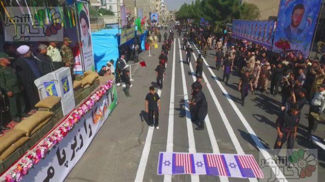 مراسم رژه نیروهای مسلح در شهریار