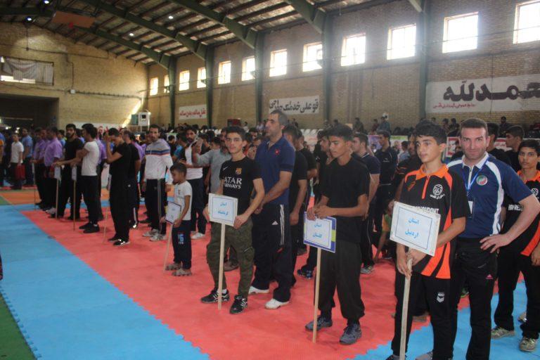 آغاز مسابقات قهرمانی کونگ فو و هنرهای رزمی کشور در شهرستان قدس