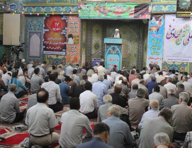 اقامه نماز عید سعید قربان در مصلی شهریار