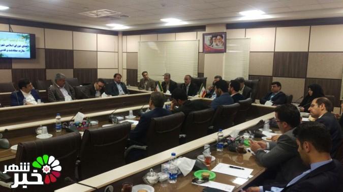 جلسه توجیهی آموزشی اعضای شورای اسلامی شهرهای ملارد،صفادشت و قدس