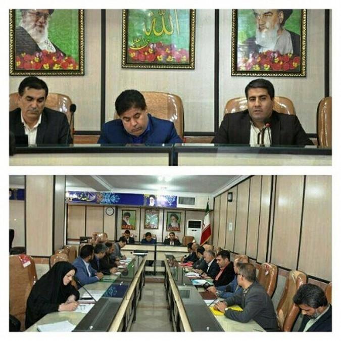جلسه ساماندهی نیروی انسانی آموزش وپرورش شهریار
