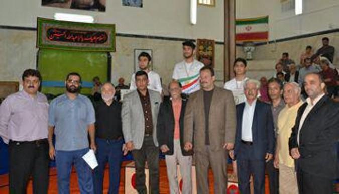 مقام سومی شهریار در سومین دوره المپیاد جوانان ورزش زورخانه ای استان تهران