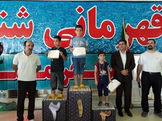 مسابقات شنای دانش آموزان شهرستانهای استان تهران