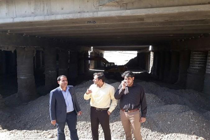 بازدید شهردار شهریار از پروژه تقاطع غیر همسطح شادچای