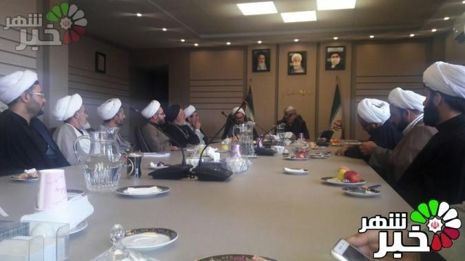 جلسه هم اندیشی فرماندار شهریار و جمعی از علما شهریار برگزار شد