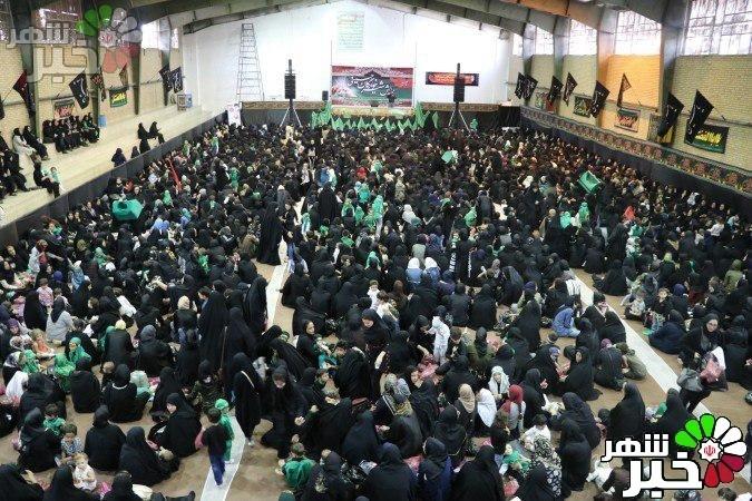 گزارش تصویری از مراسم شیر خوارگان حسینی در فردوسیه