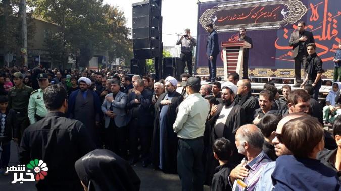 عزاداری تاسوعای حسینی در شهریار برگزار شد