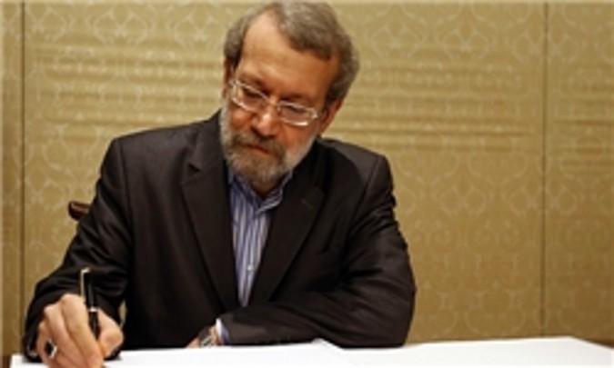 لاریجانی درگذشت نماینده اسبق مردم شهریار را تسلیت گفت