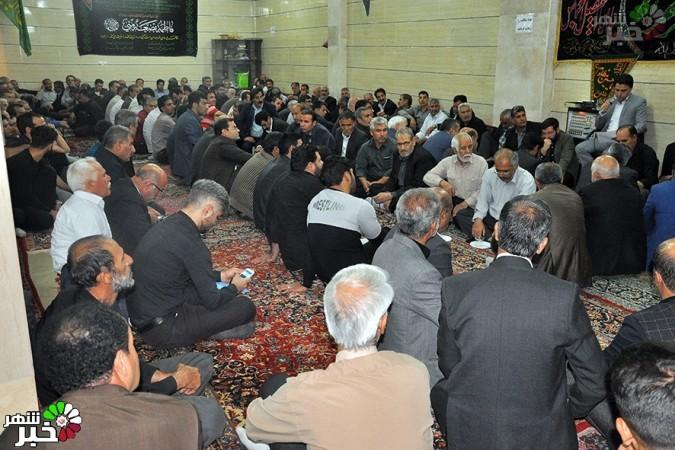 حضور مهربانانه و گرم مردم ملارد در حسینیه سیدالشهداء اراکیها وملایریها