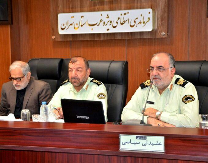 افزایش کشفیات 79 درصدی کالای قاچاق در غرب استان تهران