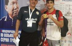قهرمانی آزادکار شهریاری در رقابت های بین المللی جام دیمیتری کرکین روسیه