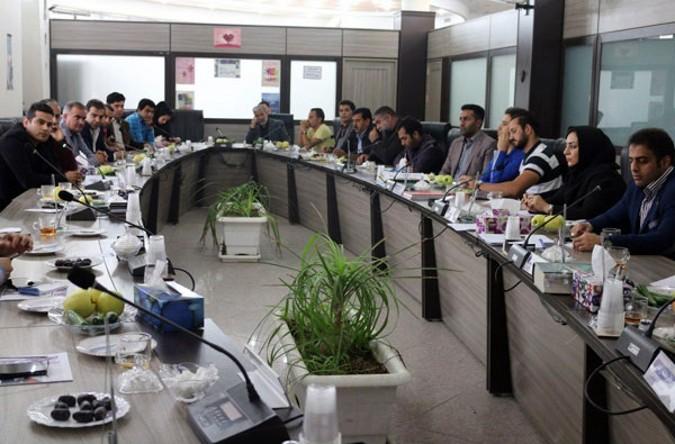 نشست هم اندیشی کمیسیون ورزش شورا با مسئولان ورزش قدس برگزار شد
