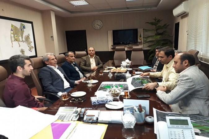 سومین جلسه مسئولین شهری با مجتبی جباری