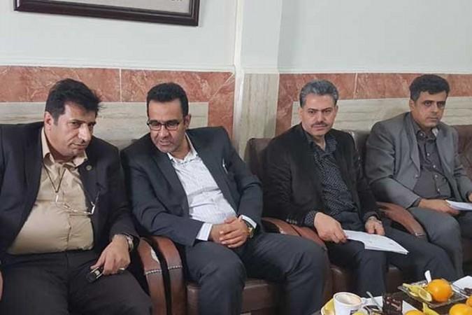 جلسه ساماندهی املاک شهرداری با اداره ثبت و اسناد برگزار شد